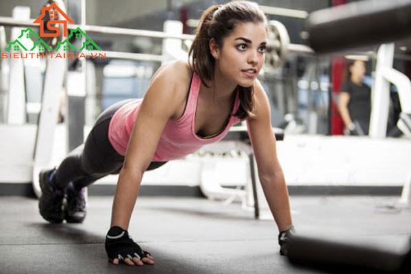 Lịch tập gym nữ