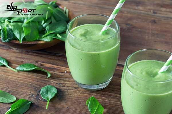 Detox rau củ giảm cân từ cải bó xôi