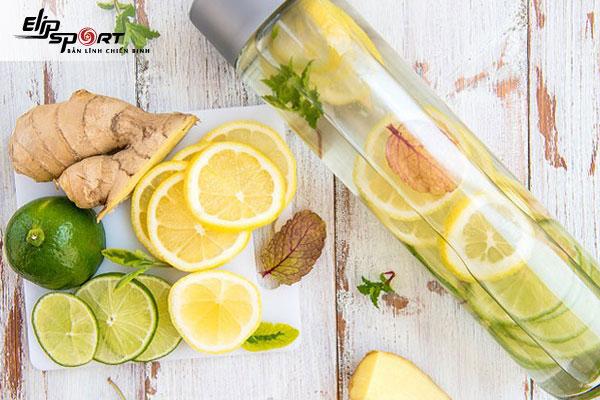 detox giảm cân từ gừng, chanh, mật ong