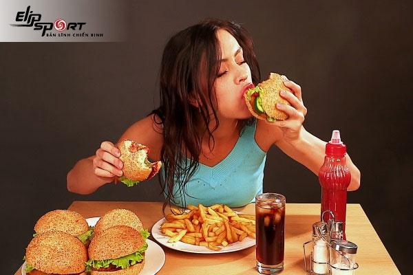 nguyên nhân tập gym tăng cân