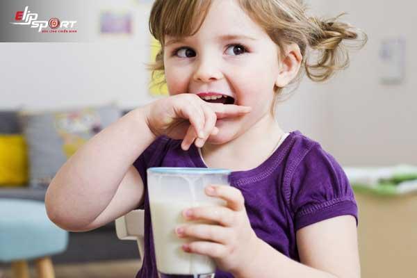 sữa gì tăng chiều cao cho bé