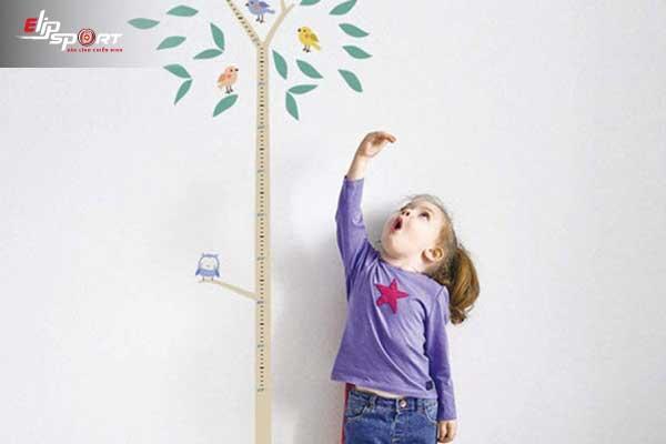 thực phẩm tăng chiều cao cho bé
