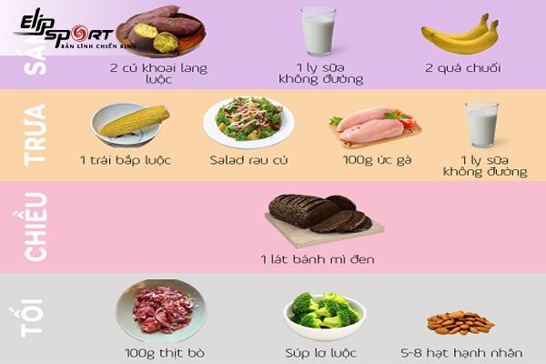 ăn bắp và khoai lang giảm cân