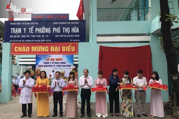 trạm y tế Tân Phú, Hồ Chí Minh