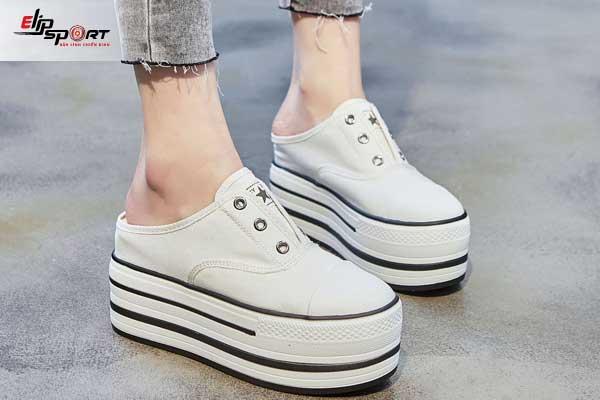 giày thể thao gót cao