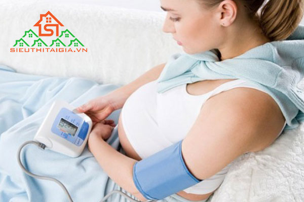 tụt huyết áp khi mang thai