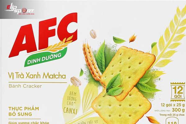 bánh AFC bao nhiêu calo