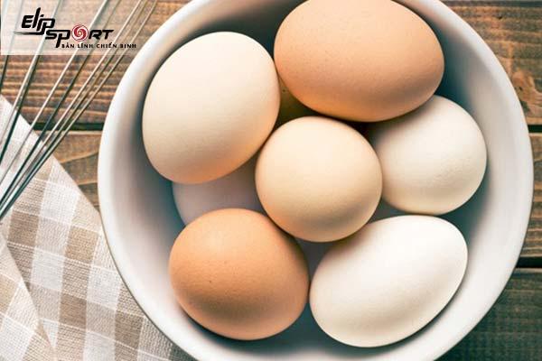ăn trứng gà luộc có mập không