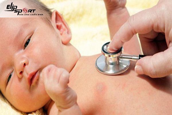 biểu hiện viêm phế quản ở trẻ sơ sinh
