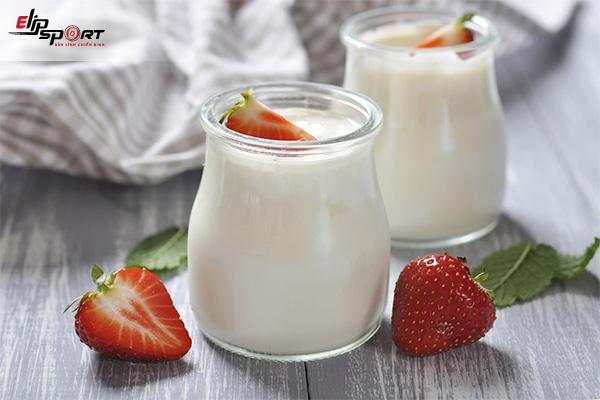 cách ăn sữa chua tăng cân