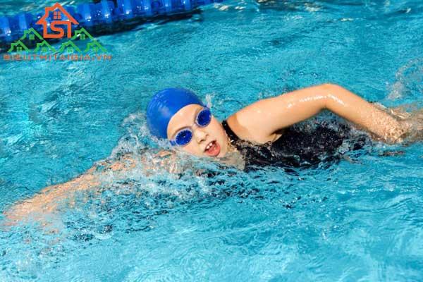 cách bơi không mất sức