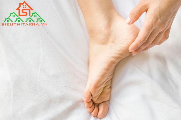 chăm sóc gót chân