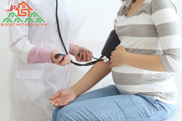 Huyết áp thấp khi mang thai