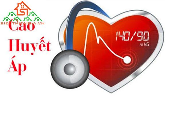 triệu chứng của huyết áp cao