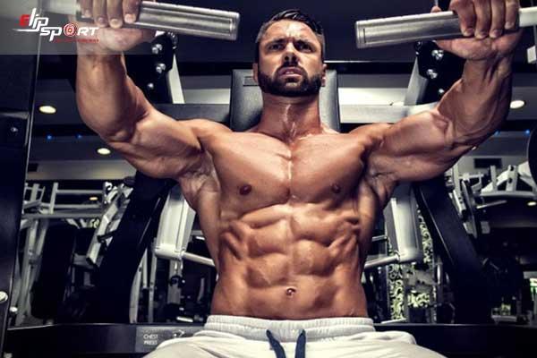 tập gym giảm mỡ ngực