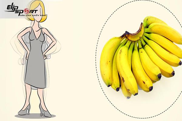 ăn chuối tăng cân