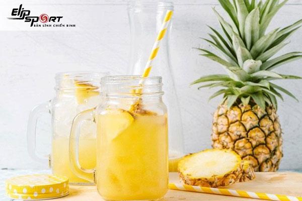 giảm cân bằng uống nước dứa