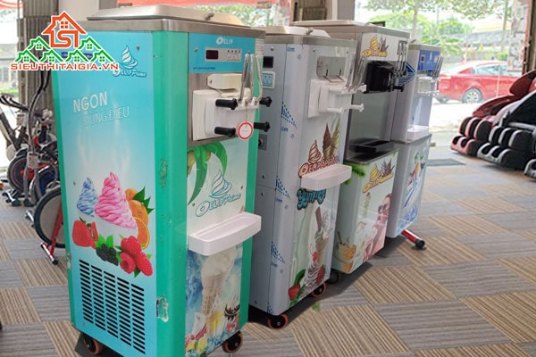 máy làm kem tươi