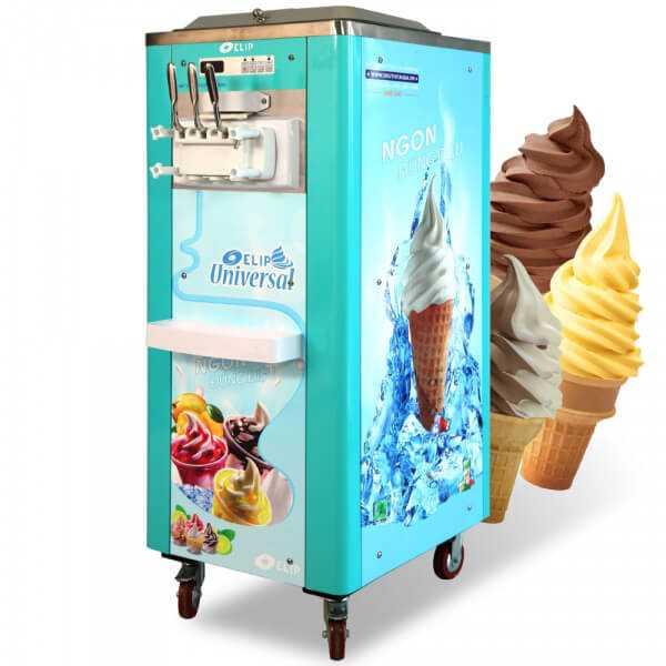 Máy làm kem tươi ELIP tại Quận Tân Bình, Tân Phú, Quận 11 - TP. HCM