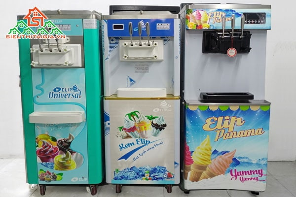 Máy làm kem tươi tại Quận 2, Bình Thạnh, Thủ Đức - TP. HCM