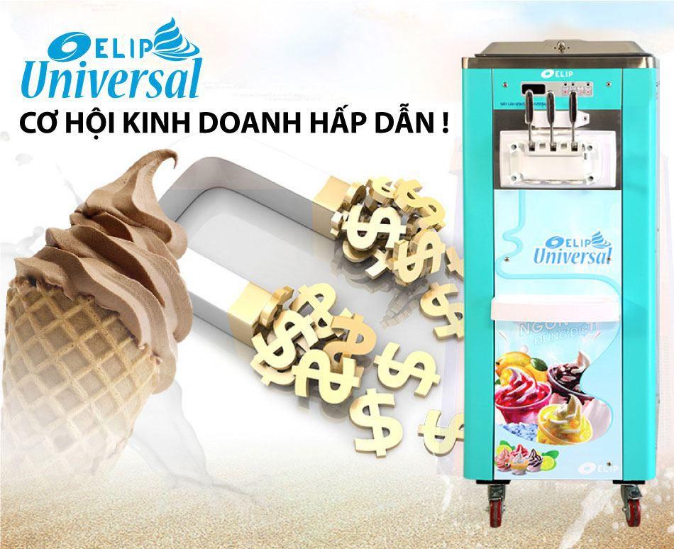 Máy làm kem tươi ELIP tại thành phố Hà Giang, Cao Bằng