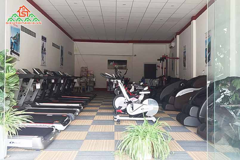 Cửa hàng bán máy xe đạp tập tại tp Mỹ Tho - Tiền Giang