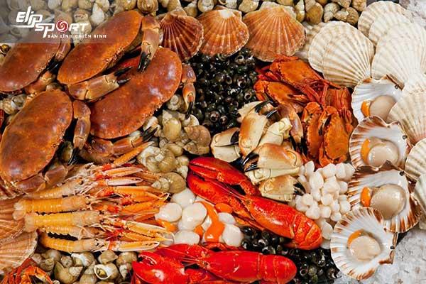 Ăn hải sản sẽ giúp bạn nhanh no