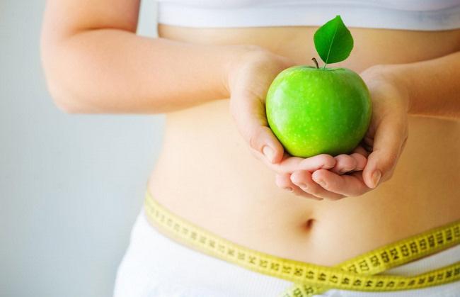 ăn táo giảm cân