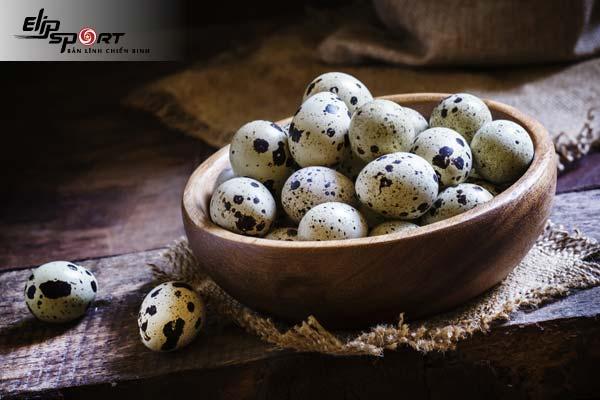 ăn trứng cút lộn có tăng cân không