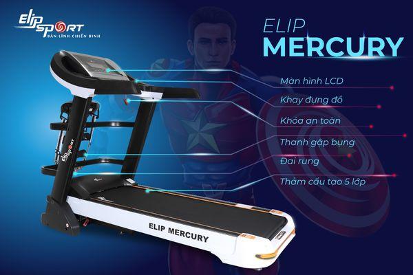 Máy chạy bộ điện đa năng ELIP Mercury