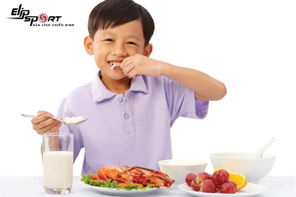 tăng cân an toàn cho trẻ