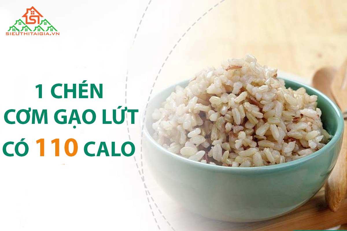 Cơm gạo lứt bao nhiêu calo