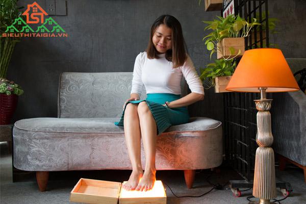 Cách sử dụng đá muối massage chân cho người hay nhức chân - ảnh 4