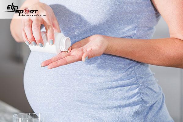 lỡ uống thuốc say xe khi mang thai