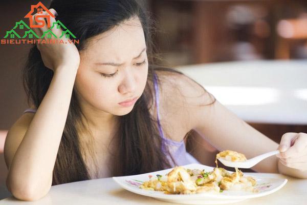 ăn không tiêu đầy bụng khó thở