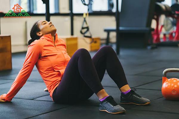 tác hại của tập gym đối với nữ
