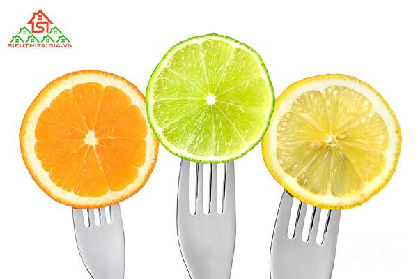 các loại trái cây ít đường