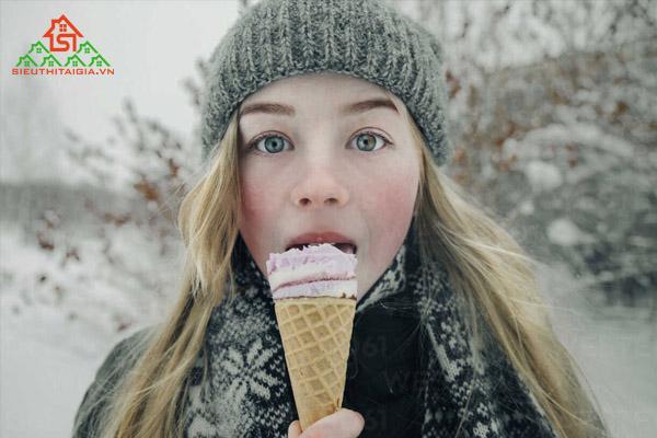 ăn kem có béo không