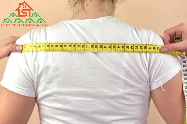 cách đo vai nữ