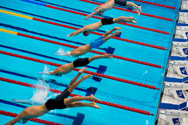 Bơi có tăng chiều cao không