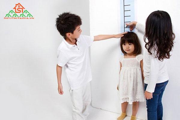 độ tuổi phát triển chiều cao của nữ