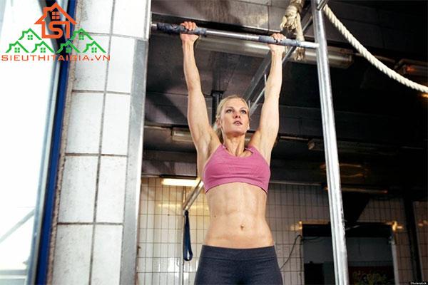 cách tập xà đơn tăng chiều cao cho nữ