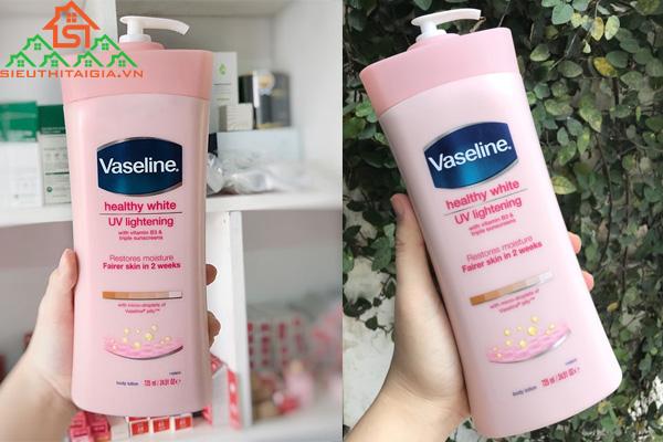 Vaseline màu hồng có tác dụng gì? Các loại dưỡng thể mùa đông