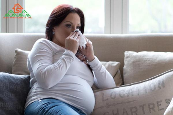 bị cảm cúm khi mang thai tháng thứ 1