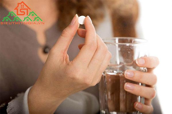 uống thuốc tăng cân bị tích nước
