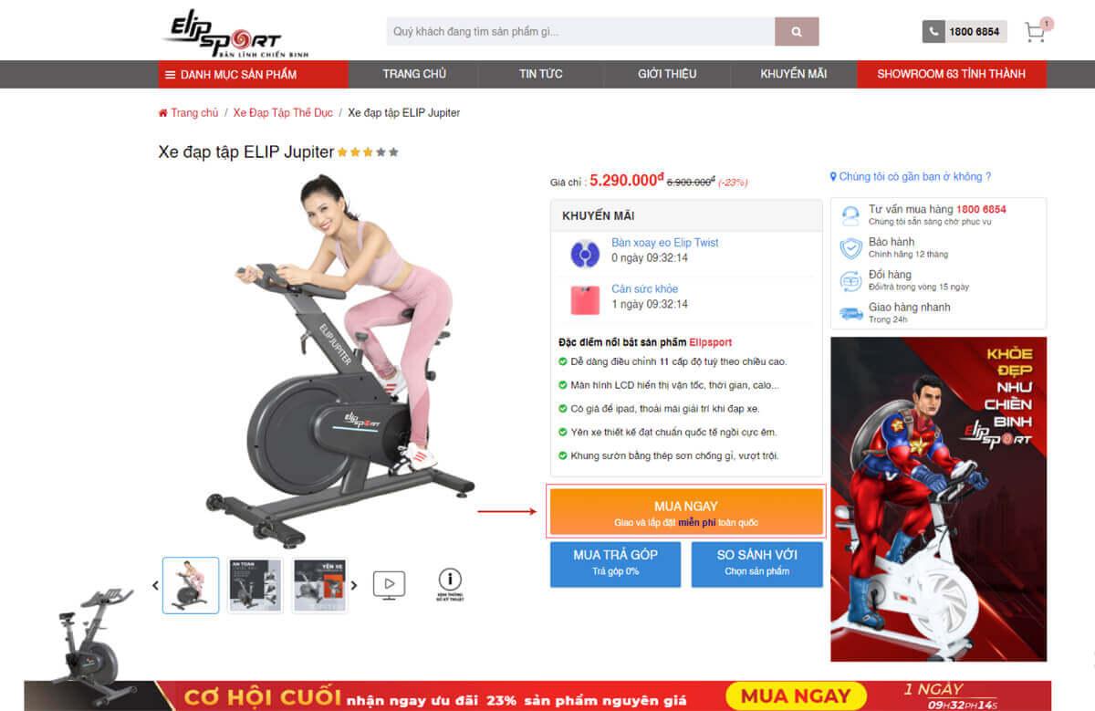 Mua hàng chính hãng Elipsport ở đâu để không bị lừa đảo, mua nhầm hàng giả mạo?