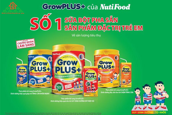 sữa bột Nutifood cho trẻ dưới 1 tuổi