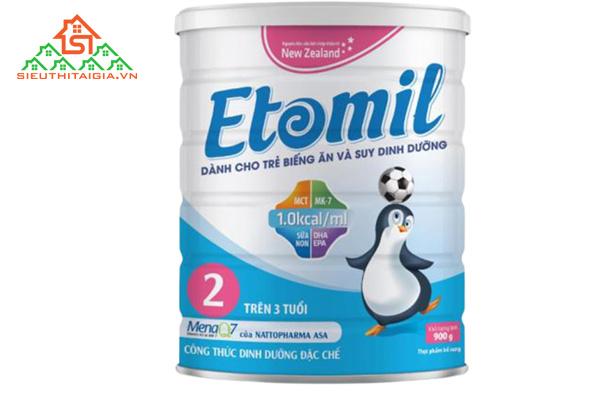 sữa Etomil của viện dinh dưỡng
