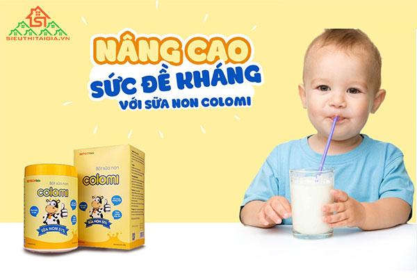 sữa non cho trẻ suy dinh dưỡng