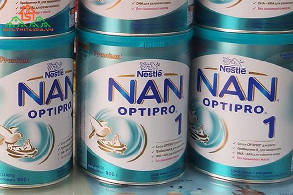 sữa cho trẻ sơ sinh bị suy dinh dưỡng